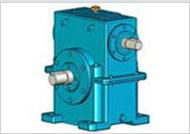 Arc cylindrical gear worm reducer WS series