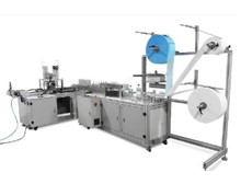 Automatic mask production line High-speed three-layer flat mask making machine(1 + 1 fully automatic)