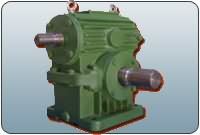 CW series arc tooth worm gear reducer