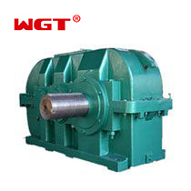 DBY secondary transmission gearbox Conical Cylindrical Gear Reducer - DBY