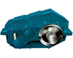 Hardened gear reducer for QJY crane