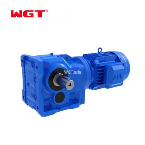 K167/KA167/KF167/KAF167 Helical gear hardened reducer (without motor)