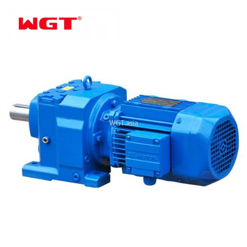 R107/RF107/RS107/RF107 Helical gear hardened reducer (without motor)