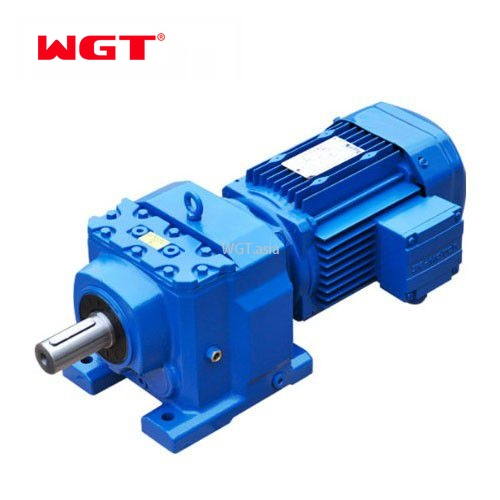 R167/RF167/RS167/RF167 Helical gear hardened reducer (without motor)