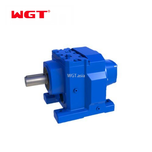 R97/RF97/RS97/RF97 Helical gear hardened reducer (without motor)
