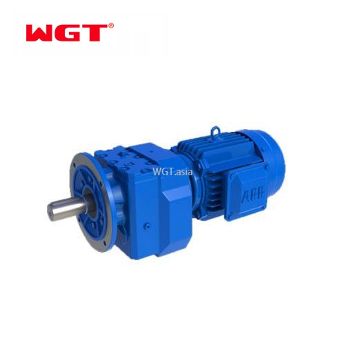 RX127/RXF127/RXS127 Helical gear hardened reducer (without motor)