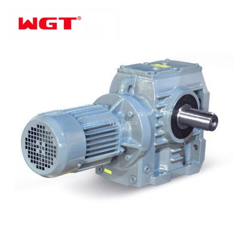 S87/SA87/SF87/SAF87/...Helical gear worm gear reducer (without motor)
