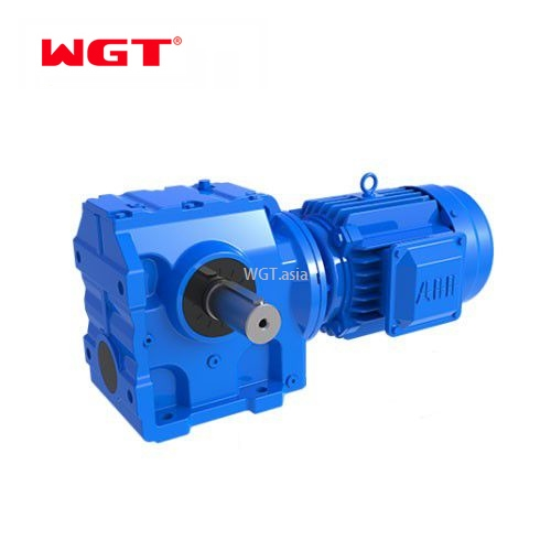 SA97/SAF97/SAZ97...Helical gear worm gear reducer (without motor)