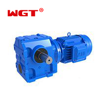 SF77...Helical gear worm gear reducer (without motor