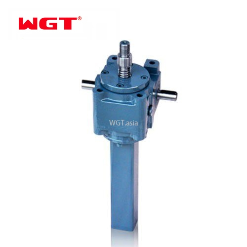 JWM/B series 25KN Worm Gear Manual Operated Screw Jack with motor for Table Lifting or Pressing good price