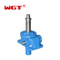 JWM/B series Hot Sale 25KN Worm Gear Manual Operated Screw Jack with motor for Table Lifting or Pressing