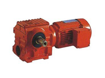 K series spiral bevel gear reducer stepless speed changer combination