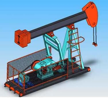 Oil field pumping reducer