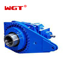 P series flange mounted gear unit planetary gearbox for mining machine P