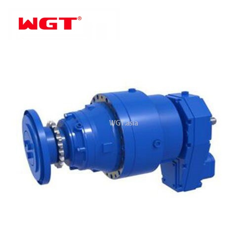 P series foot mounted gearbox planetary reducer gearbox geared motor -P