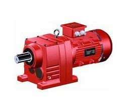 R series helical gear hard surface reducer combined with stepless speed changer