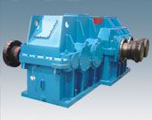 Rubber and plastic mixer main reducer