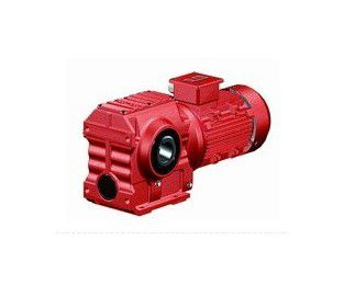 S series helical gear-worm gear reducer combined with stepless speed changer