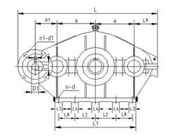 SHCD type three ring reducer