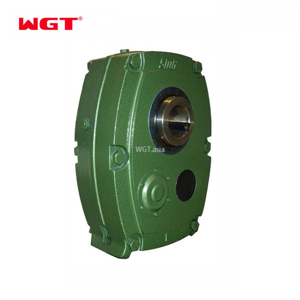 SMR E Φ55 ratio 13:1 reduction gearbox shaft mounted reducer belt reducer single stage
