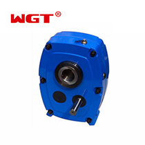 SMR F Φ65 ratio 5:1 reduction gearbox shaft mounted reducer belt reducer single stage