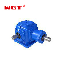 T series power ratio 3:1 bevel spiral gear reducer made in china  -T2-25