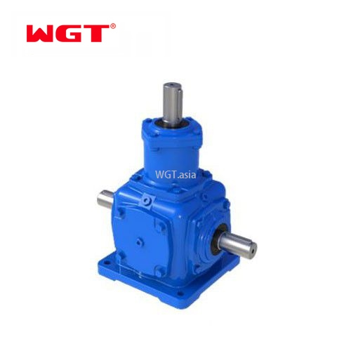 T series spiral bevel gear steering gear box reductor for elevator -T2-25