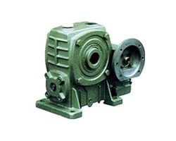 Two-stage FCEDKA type worm gear reducer