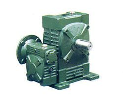 Two-stage FCEWDA type worm gear reducer