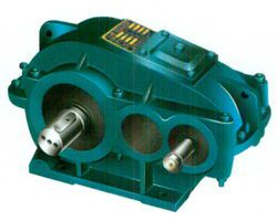 ZQA soft tooth surface cylindrical gear reducer