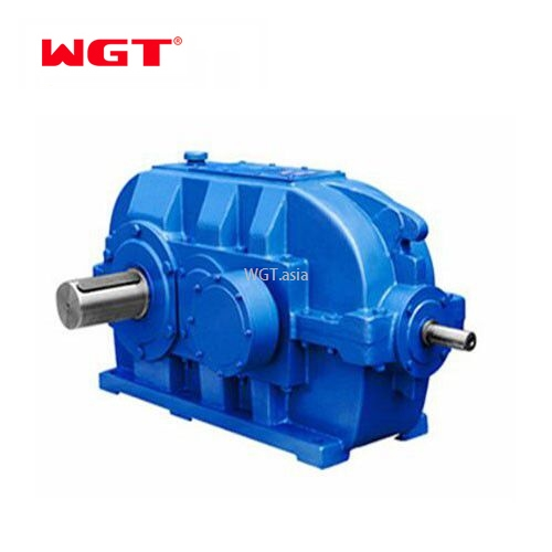 ZSY315 gear reducer three-stage cylindrical gearbox with hardened gear ratio 22.5 helical gear speed reductor
