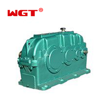 ZSY315 gear box three-stage cylindrical gearbox with hardened gear heavy duty speed reducer industry gearbox