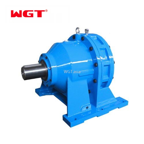 BWD Cycloidal Gear Motor Speed Reducer Gearbox Right Angle T Shape Anglgear Gear Box Reducer 1:1 Ratio .21 Hp Inch
