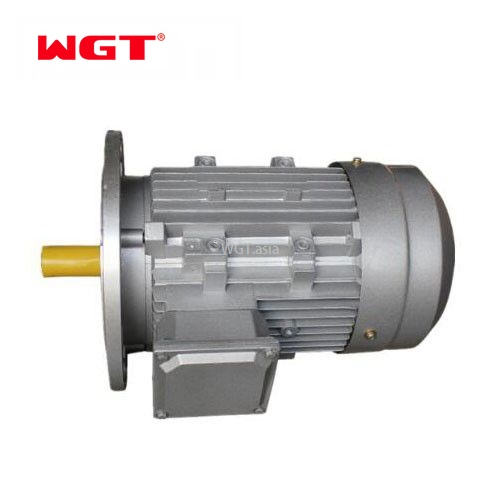 YVP auminum shell 3 phase ac gear motor 220V ac motor with brake