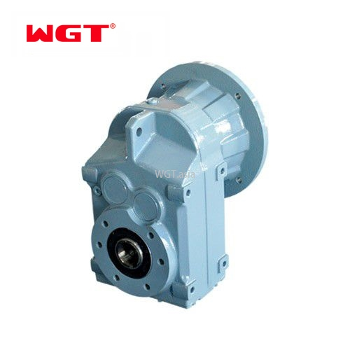 F77/FF77/FA77/FAF77 Helical gear hardened reducer (without motor)
